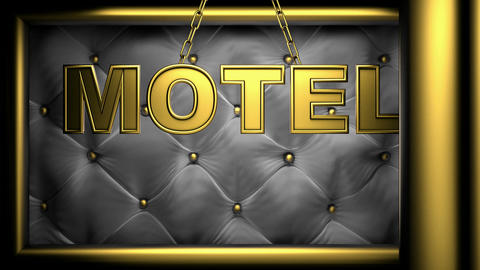 motel Stock Video Footage
