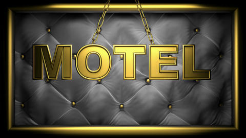 motel Stock Video Footage