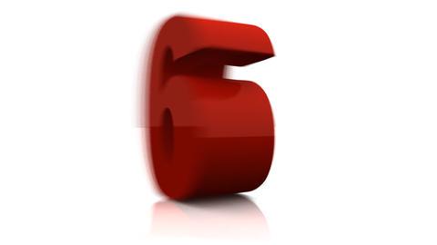 Digital countdown Stock Video Footage
