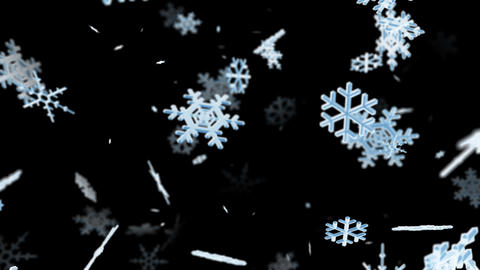 Snow Flake lb with alpha Animation