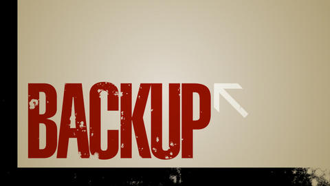 Computer Multiple Backup Loop HD Stock Video Footage