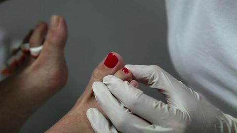 Nail polishing ビデオ