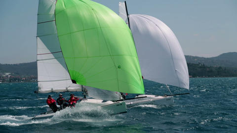 Sailing 54 E HD Footage