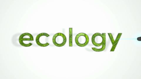 Ecology, Pollution and environment. Abstract destruction... Stock Video Footage