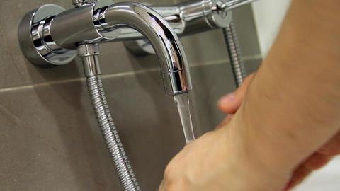 bathroom Stock Video Footage