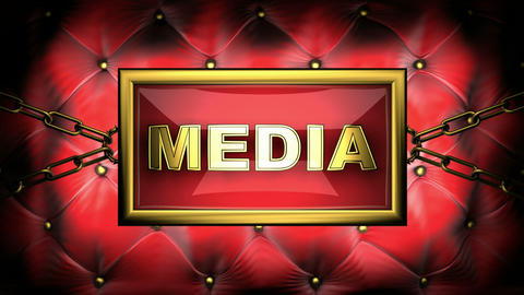 media Stock Video Footage