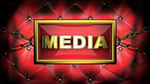 media Stock Video Footage