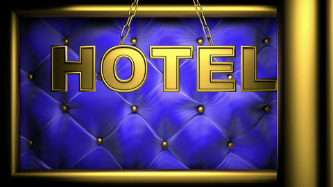 hotel Stock Video Footage