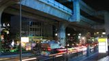 Bangkok Traffic Time Lapse stock footage