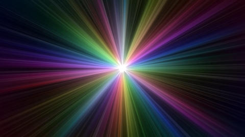 Colorful Rays Ab1 HD Animation