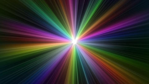 Colorful Rays Ab1 HD Stock Video Footage
