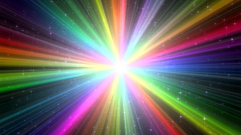 Colorful Rays Ag1 HD Animation