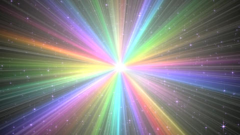 Colorful Rays Aw1 HD Stock Video Footage