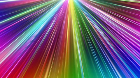 Colorful Rays Bc1 HD Animation