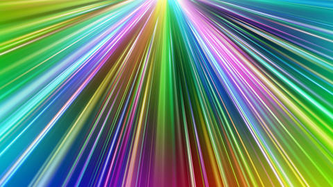 Colorful Rays Bc1 HD Stock Video Footage