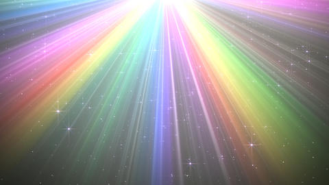 Colorful Rays Bw1 HD Stock Video Footage