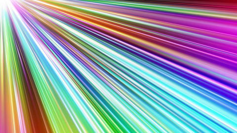 Colorful Rays Cc1 HD Animation
