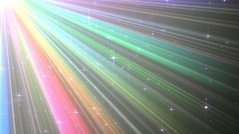 Colorful Rays Cw1 HD Stock Video Footage