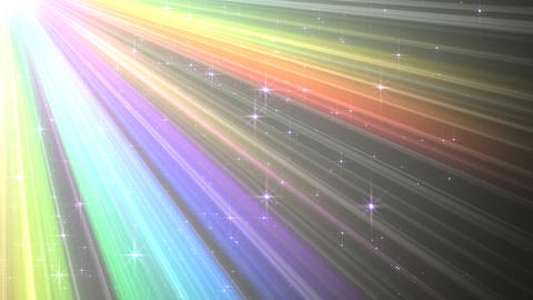 Colorful Rays Cw1 HD Animation