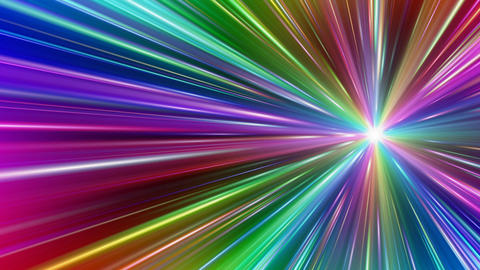 Colorful Rays Dc1 HD Animation