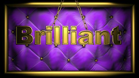 brilliant violet Stock Video Footage