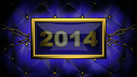 blinking monitor 2014 Stock Video Footage