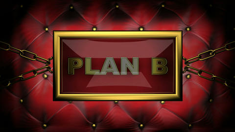 blinking monitor plan b Stock Video Footage