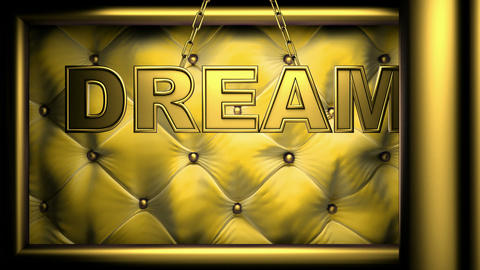 dream yellow Stock Video Footage