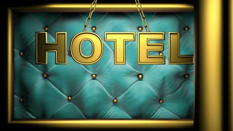 hotel golub Stock Video Footage