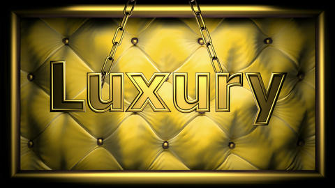 luxury yellow Animation