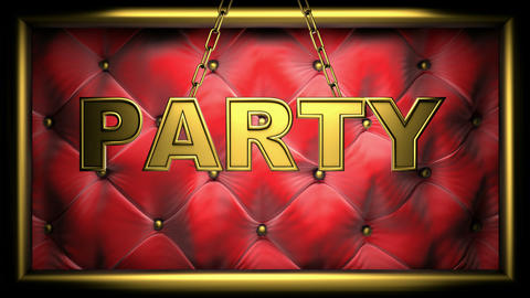 party red Stock Video Footage