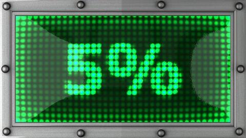 blinking lights(5%) Stock Video Footage