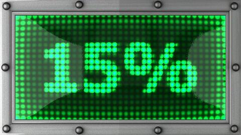 blinking lights(15%) Stock Video Footage