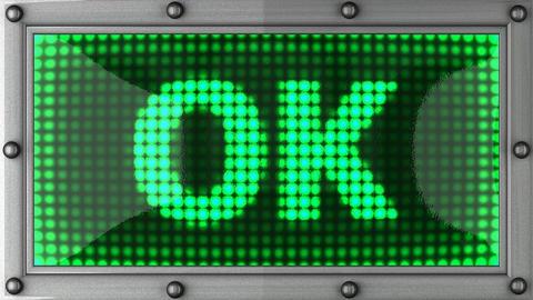 blinking lights(ok) Stock Video Footage