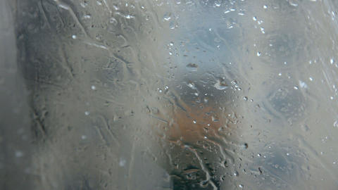 Rain and snow Stock Video Footage