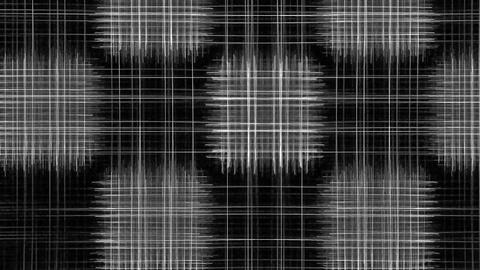 Geometry. Chaos. With alpha channel Stock Video Footage