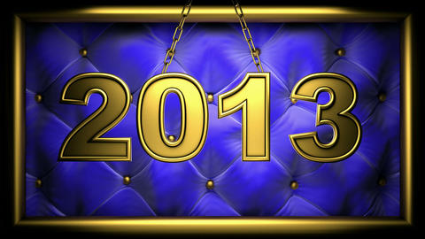 2013 blue Stock Video Footage
