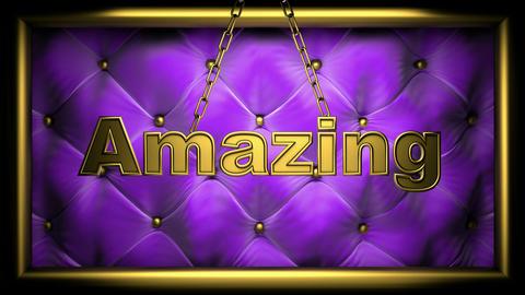 amazing violet Animation