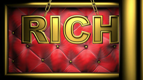 rich red Stock Video Footage