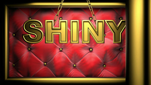 shiny red, Stock Animation