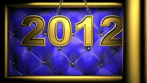 2012 blue Stock Video Footage