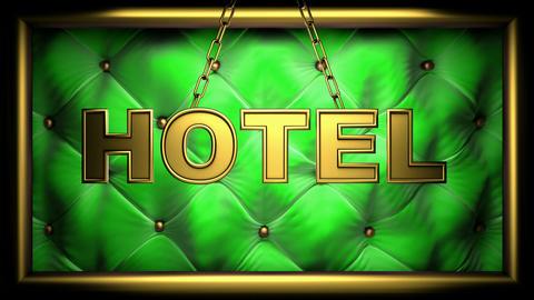 hotel green Animation