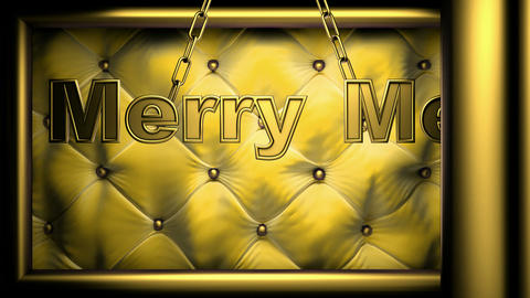 merry me yellow Stock Video Footage