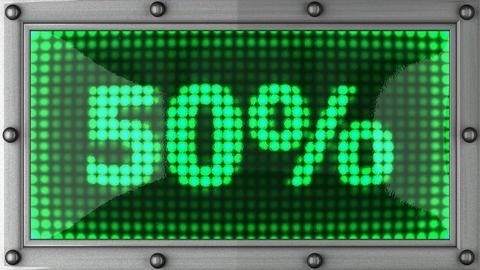 blinking lights(50%) Stock Video Footage