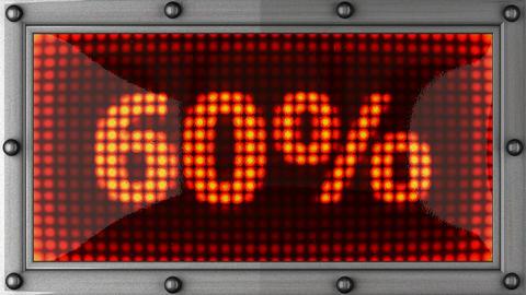 blinking lights(60%) Stock Video Footage