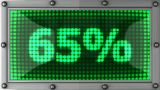 Blinking Lights(65%) stock footage