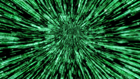 Broadband fiber-optic connection: Loopable swift flight… Stock Video Footage