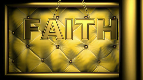 faith yellow Stock Video Footage