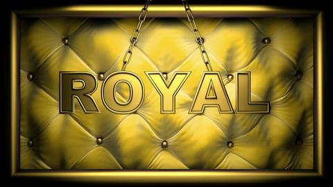royal yellow Animation