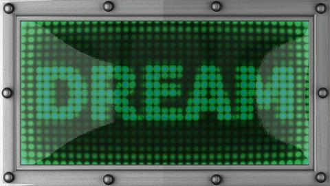 blinking lights(dream) Stock Video Footage